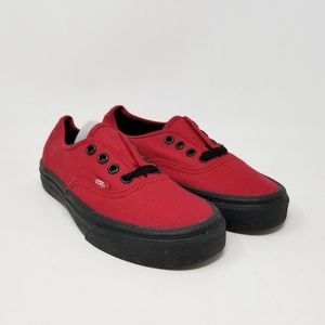 Vans Authentic Jester Red Sneakers Men's Size 3.5